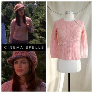 Pink Sweater ASO Summer Roberts in The OC Size M